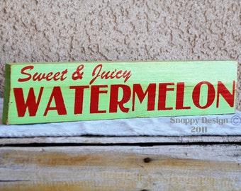 Sweet & Juicy WATERMELON - Summer - Fruit - Farmers Market