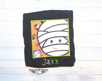 Baby boymummy Shirt, Halloween shirt, BAby boy halloween shirt, Baby mummy shirt, Mummy shirt, Mummy bodysuit, Halloween