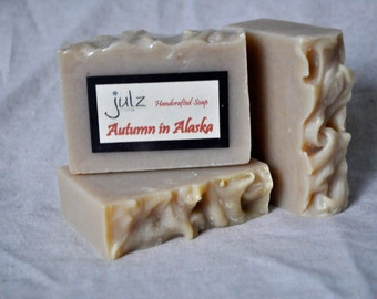Autumn in Alaska- Scented Bar Soap