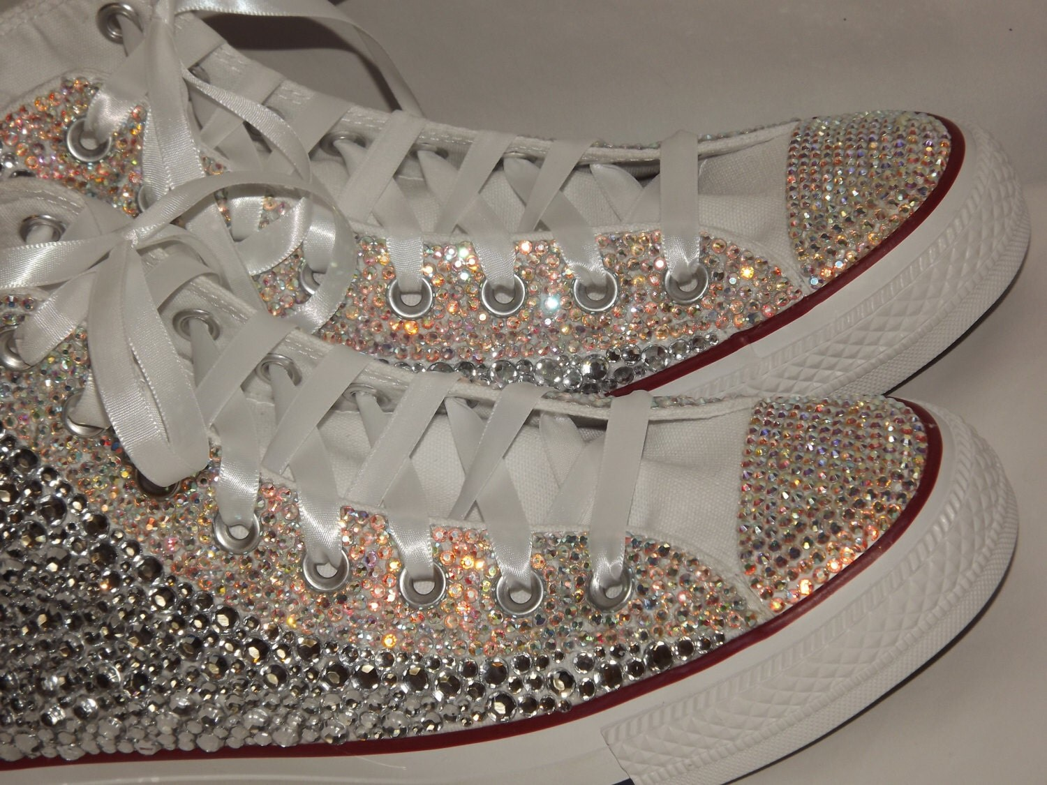 Custom Bling Rhinestone Totally Covered Converse By