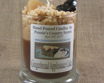 Gingerbread Applesauce Cake Gourmet Scented De-Light Candle