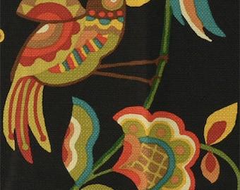 Upholstery Fabric, Drapery Fabric, Birds Fabric, Flowers/Jungle/Animal, Woven Fabric, Pillow Fabric, Diy/Craft/Sewing Fabric, One Yard