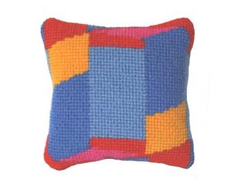 Sweetie Pillow, Needlepoint gift kit, Little Tempo # 2