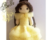 Crochet Doll - Fairytale - Belle - Beauty and the Beast - Special Edition
