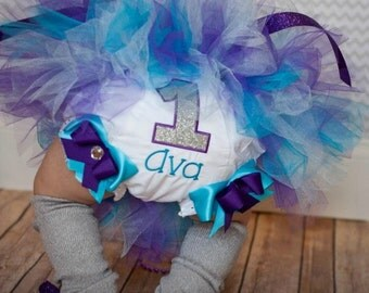 Personalized Bloomers or Diaper Cover Perfect for Photos or Birthday Parties