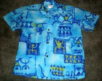 Flo Hawaii Hawaiian Aloha Shirt