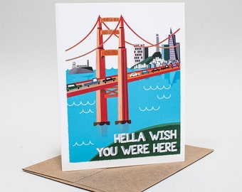 Relationship: Hella Wish You Were Here Card