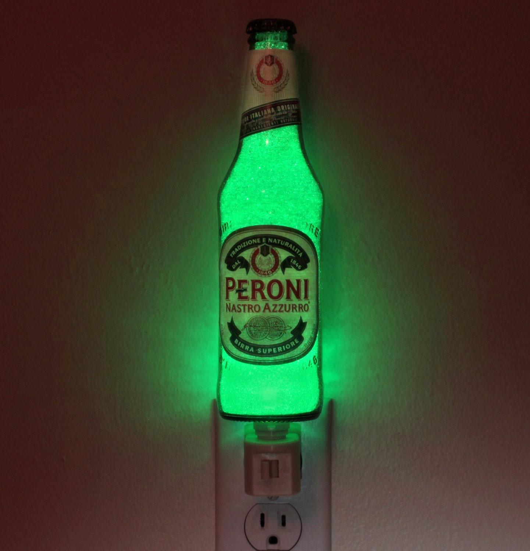 12oz peroni italian beer night light accent lamp 50000 hour
