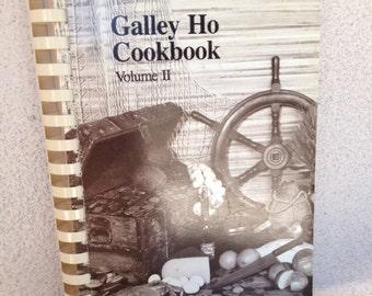 Vintage Galley Ho Cookbook volume 2 paperback Pages 203  1986 edition