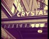 Portland Photography McMenamins Crystal Ballroom--Fine Art Photography 8x8