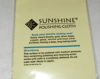 Sunshine Polishing Cloth-Jewelry Polishing Cloth - MTS2