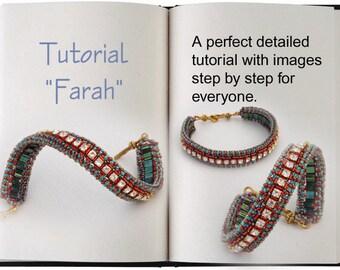 Jewelry Tutorial.... Farah... Bracelet