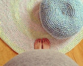 Crochet Pouf Floor Cushion
