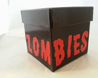 ZOMBIES! Decorative Collage Box
