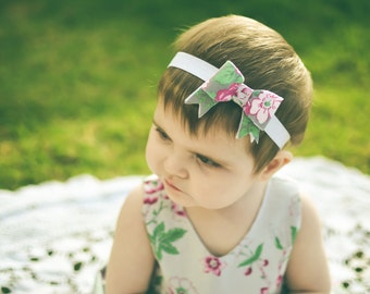 Beautiful Bow Headband Tutorial Pattern PDF