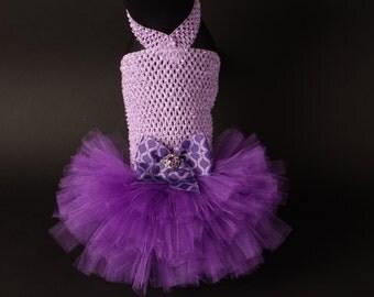 SHADES OF PURPLE Tutu Dress