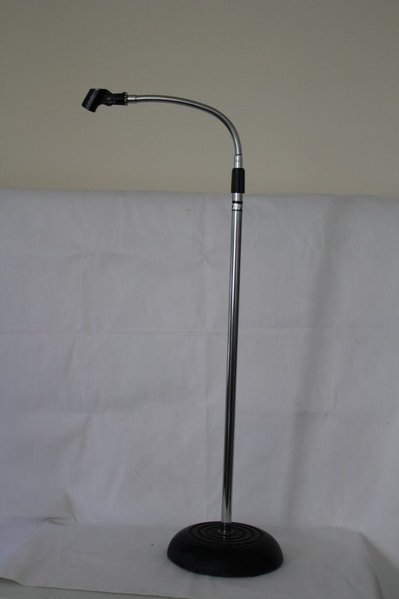 Vintage Microphone Stand Kmd With Steel Flex Top