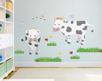 Farm Wall Art farm wall decal   etsy