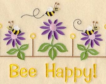"""Novelty Apron """"Bee Happy"""""""
