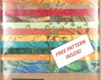 Tonga Treat Strips - Timeless Treasures - Cotton Fabric - Treat-Strip-Punch