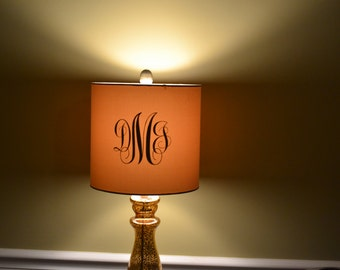 Monogram for Lamp shades