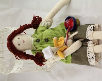 Brown Haired Childbirth Education Doll Set