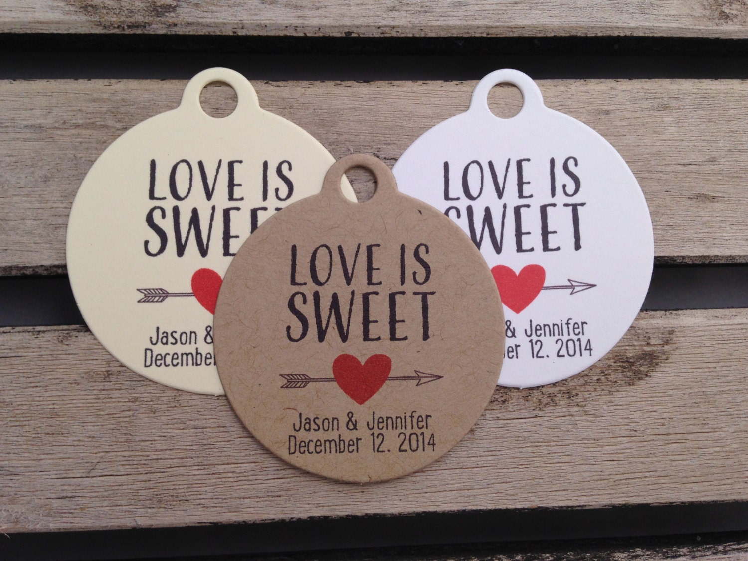 Love Is Sweet Wedding Gift Tags : Wedding Gift Tags Love Is Sweet Wedding by FiendishPaperThingy