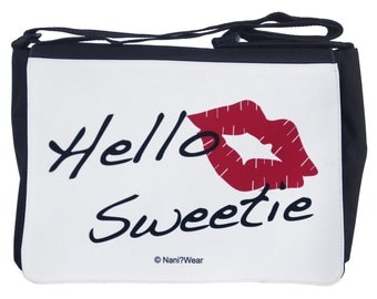 River Song Large Messenger Bag: Hello Sweetie
