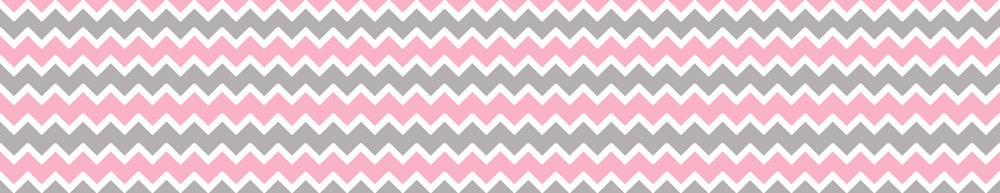 Pink Grey Gray Chevron Wallpaper Border Wall By Decampstudios