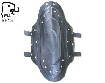 New Medieval pair of pauldron Rerebrace Achilles in steel Armor Larp SH15