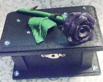 Rose Treasure Box // Glow in the Dark