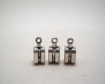 silver tone dangle bail 12mm (5)
