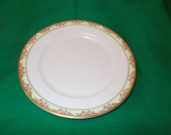 """Two (2), 7 1/8"""" Bread & Butter Plates, from Edwin Knowles, in the KNO 643 Pattern."""