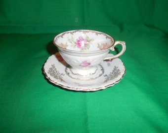 One (1), Porcelain Demitasse Cup and Saucer, from Schumann, of Germany, US Zone.