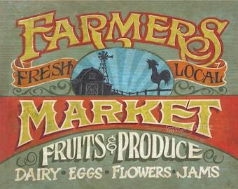 Farmers Market Print