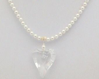 Bridal Wild Heart Pendant