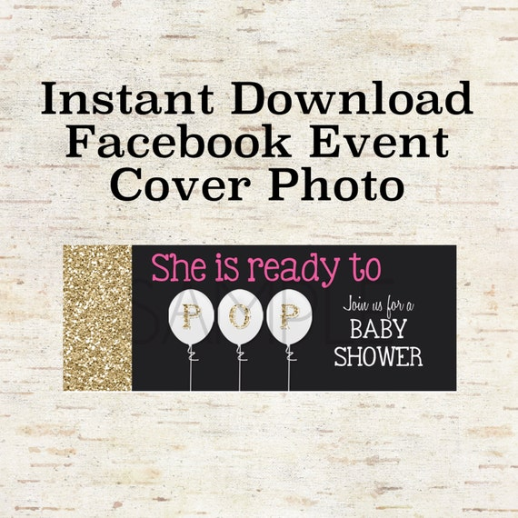Items similar to Instant Download Facebook Event Cover ...