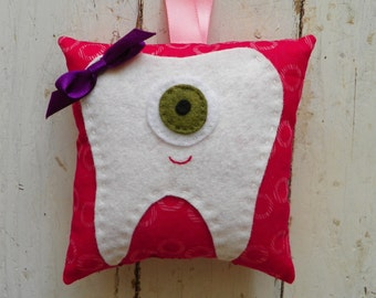 Eye Tooth Fairy Pillow
