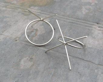 Handmade Solid Sterling Silver Ring Blank, 18 gauge band 20 gauge prongs - MADE TO ORDER