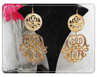 Geisha Style Earrings - Delightful  Flavored Pierced Earrings  E877a-120413000