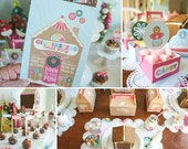 DIY Gingerbread House Party Printables