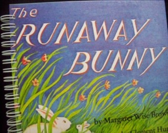Runaway Bunny blank book diary journal or scrapbook