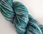 Frost Bite - Hand Dyed fingering weight yarn - Superwash merino wool