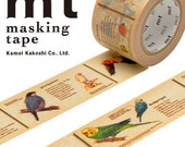 MT Washi Masking Deco Tape Birds Design