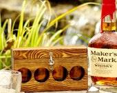 Travel Cocktail Bar - Mini Cocktail Bar - Alcohol Travel Kit - Travel Flasks