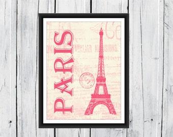 Paris Print - Dorm Decor - Home Decor