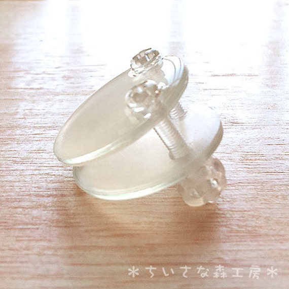 items similar to 遉1inch 25 4mm screwed pressure earring