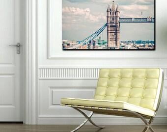 London Tower Bridge Photography Print Wall Art - London