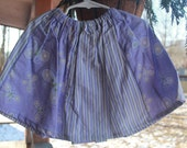 spring purple lilac yellow butterfly twirly panel skirt little girls toddlers