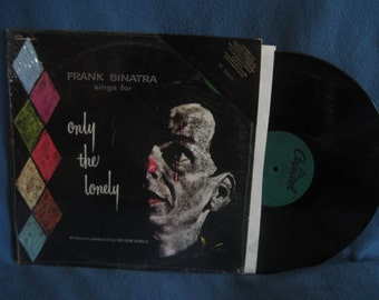 """Vintage, Frank Sinatra - """"Sings For Only The Lonely"""", Vinyl LP, Record Album, In Shrink, Rat Pack, Classics, Angel Eyes"""